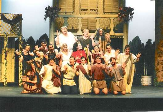 1999 Fall - A FUNNY THING HAPPENED ON THE WAY TO THE FORUM