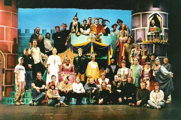 2001 Fall - ONCE UPON A MATTRESS